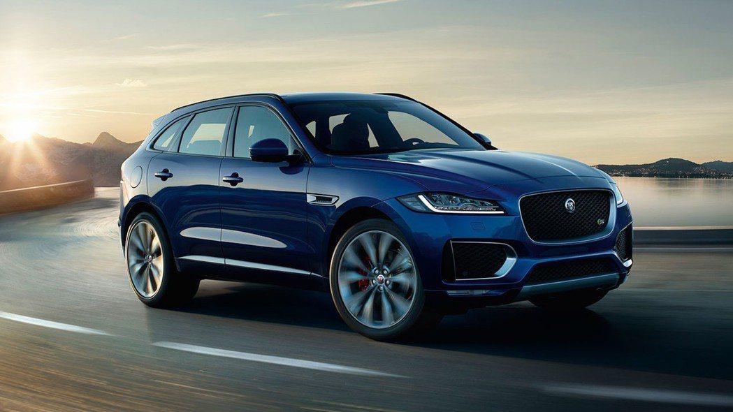 Jaguar F-Pace。 摘自Jaguar