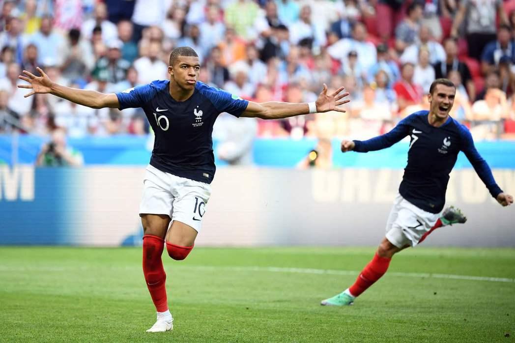法國只要穩健的進攻別踢得太保守,世足冠軍戰贏面就很大。 美聯社