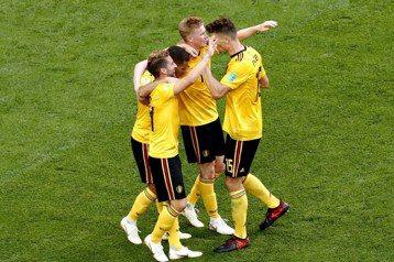比利時2:0勝英格蘭 奪世足季軍創隊史最佳