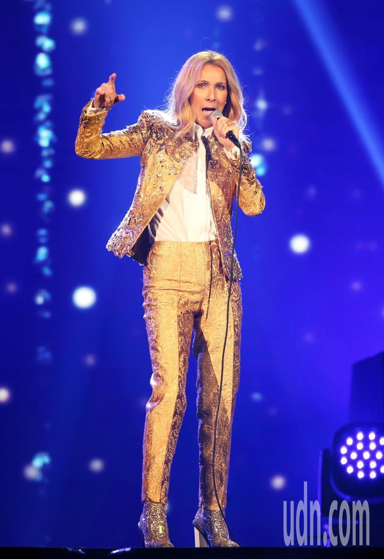 席琳狄翁在台北已表演兩場,給歌迷滿滿的驚喜和感動。記者徐兆玄/攝影