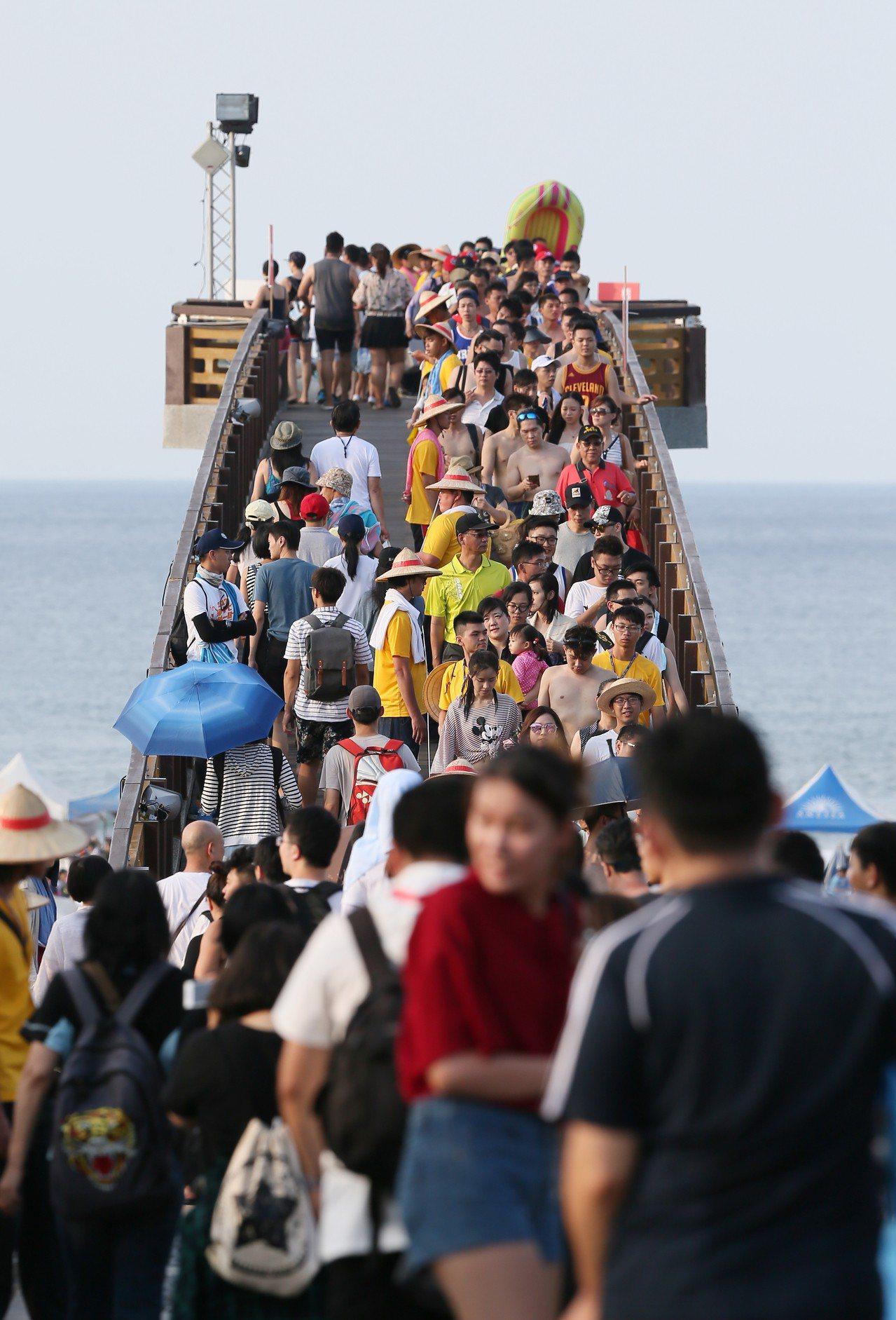 去年貢寮海洋音樂季盛況。聯合報系資料照/記者許正宏攝影
