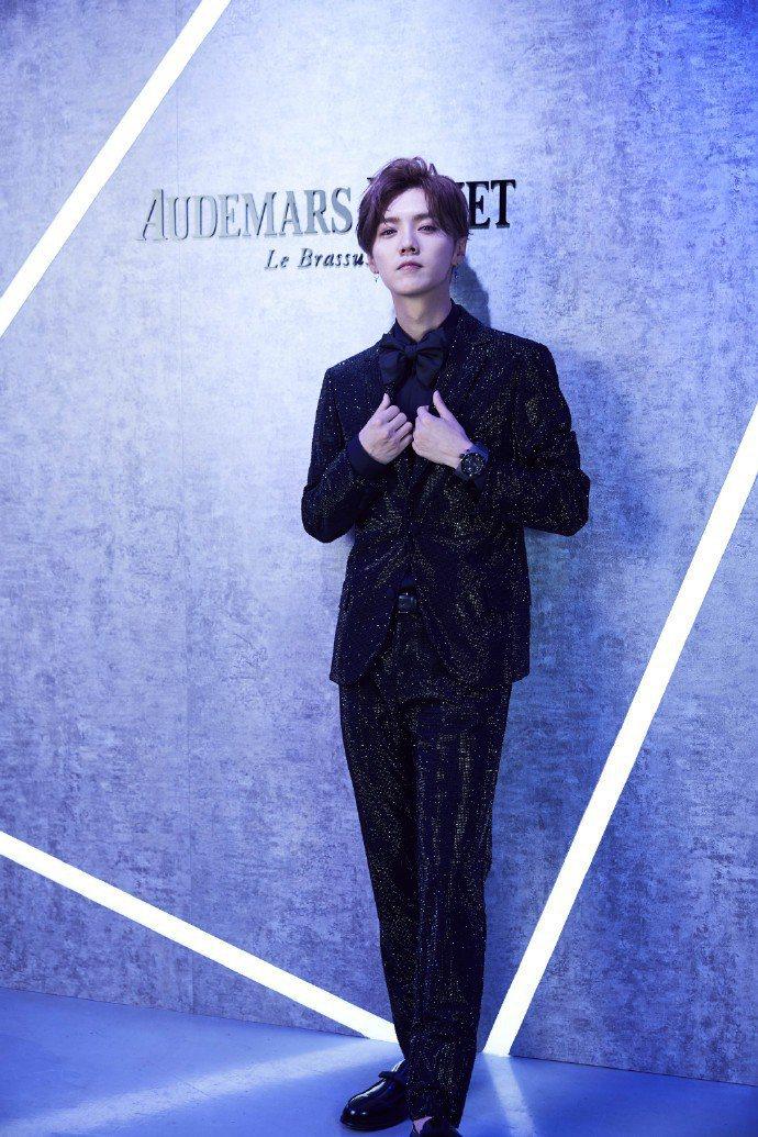 鹿晗成為愛彼表的首位華人品牌大使。圖/取自愛彼表微博