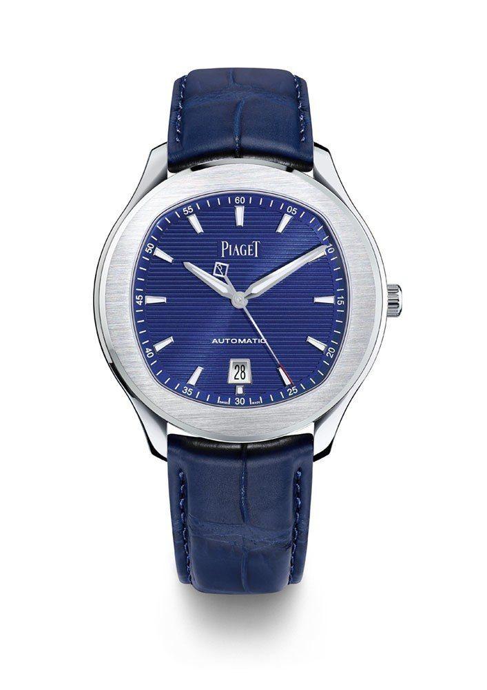 吳希澤配戴的Piaget Polo S 大三針腕表,42 毫米精鋼表殼、伯爵製1...