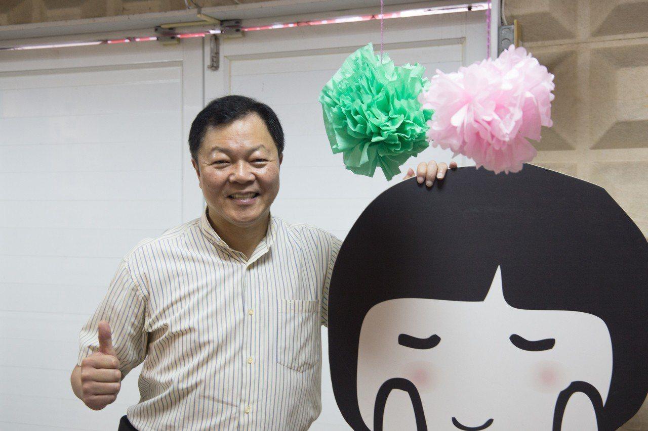 家扶中心主任陳清輝投入家扶事業37年,培育花蓮無數孩童長大。記者蔡翼謙/攝影