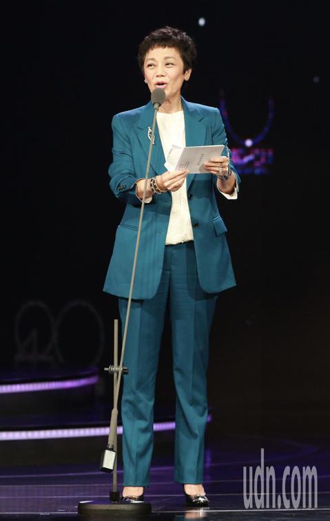 2018台北電影獎,頒獎人張艾嘉。記者林伯東/攝影