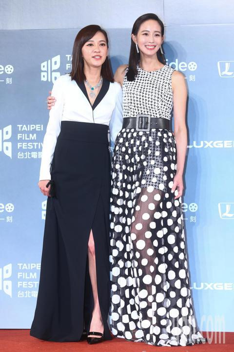 2018台北電影獎,頒獎人張鈞甯、陳意涵出席。