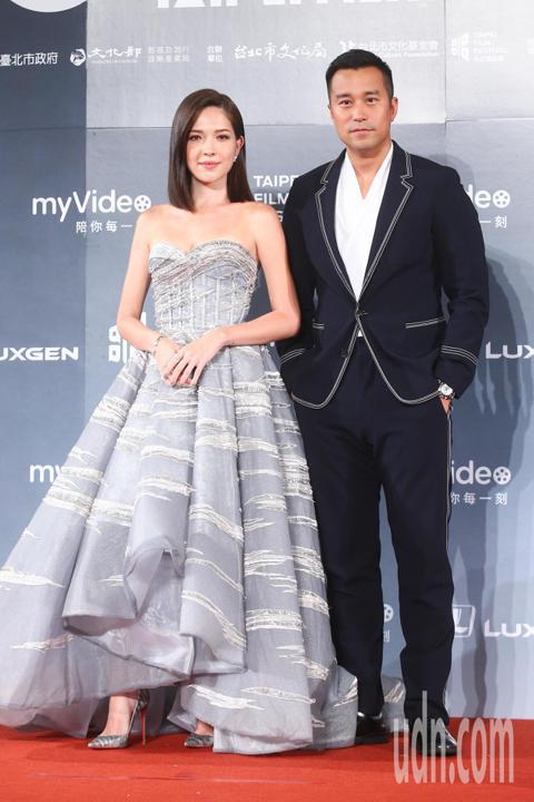 2018台北電影獎,頒獎人張孝全、許瑋甯。