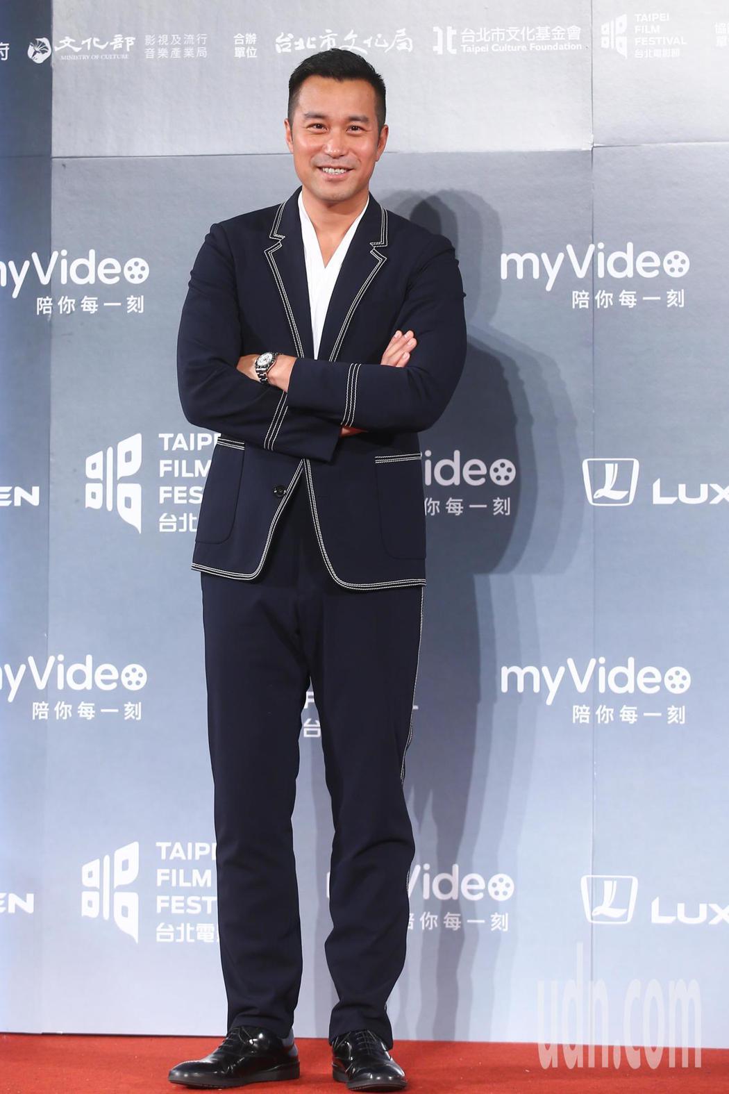 2018台北電影獎,頒獎人張孝全、許瑋甯。記者王騰毅/攝影
