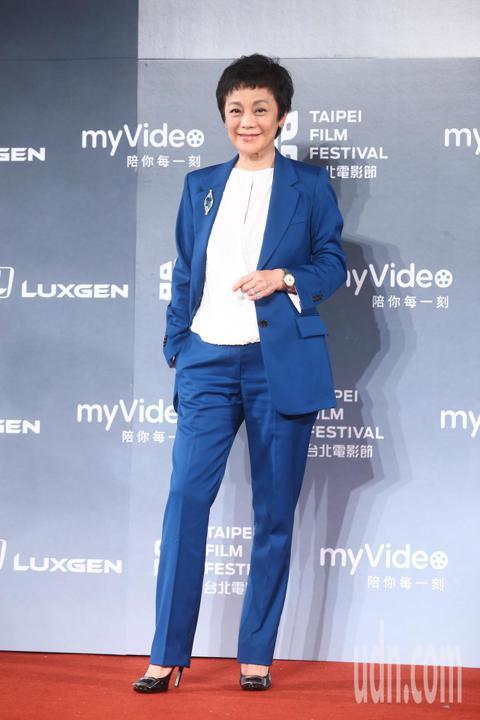 2018台北電影獎,頒獎人張艾嘉出席。