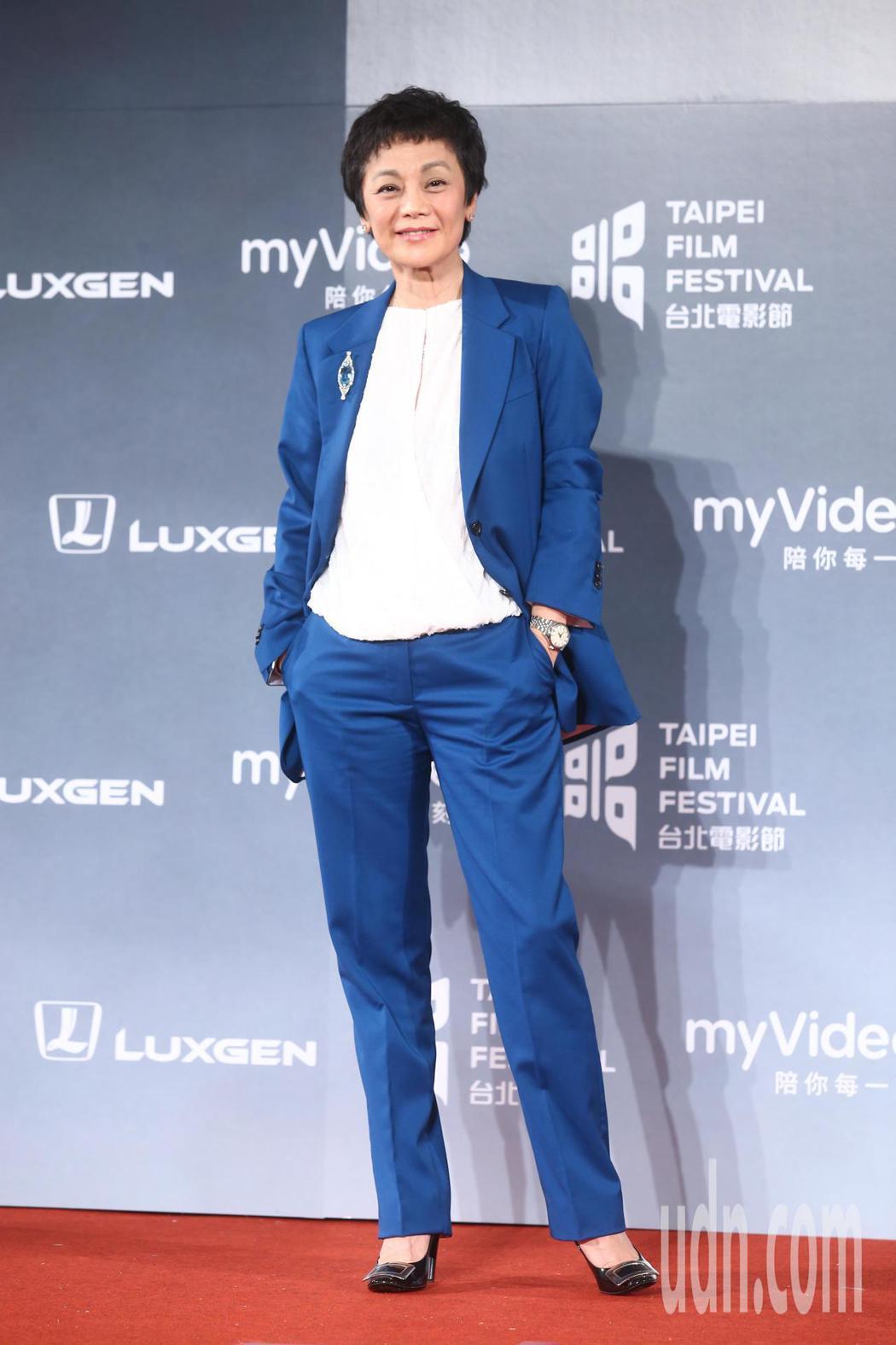 2018台北電影獎,頒獎人張艾嘉出席。記者王騰毅/攝影