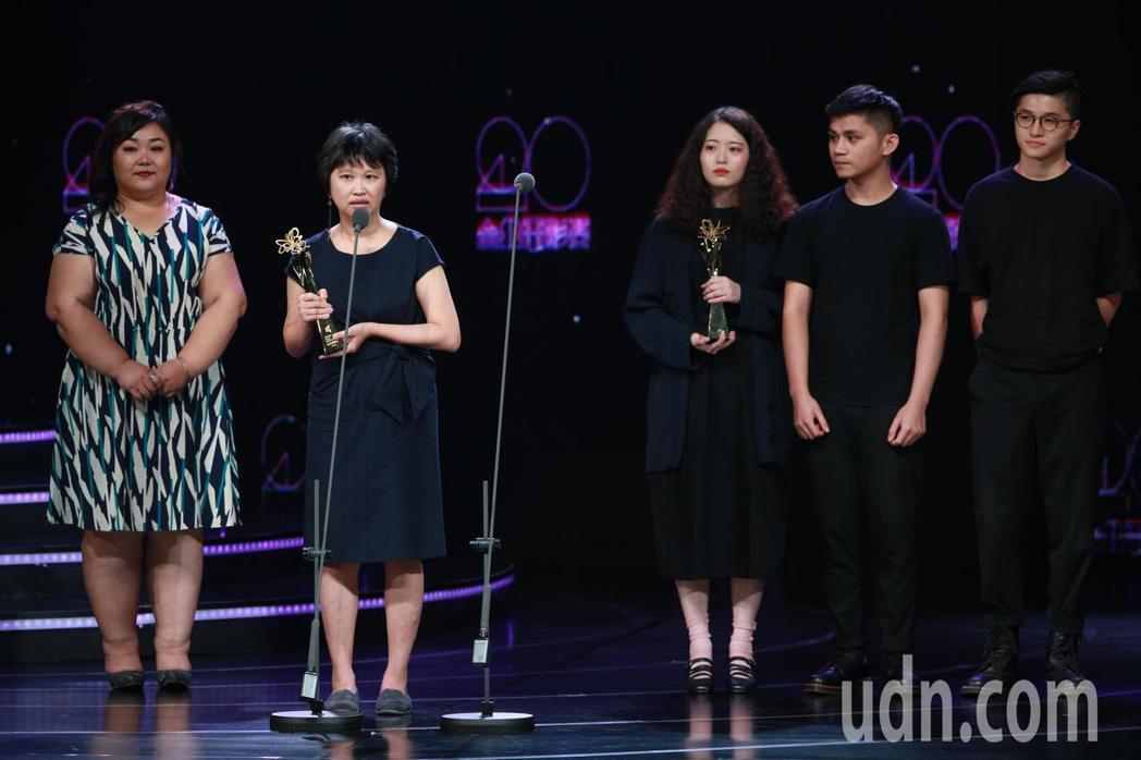 2018台北電影獎,最佳動畫獎由霓虹、幸福路上獲得。記者林伯東/攝影