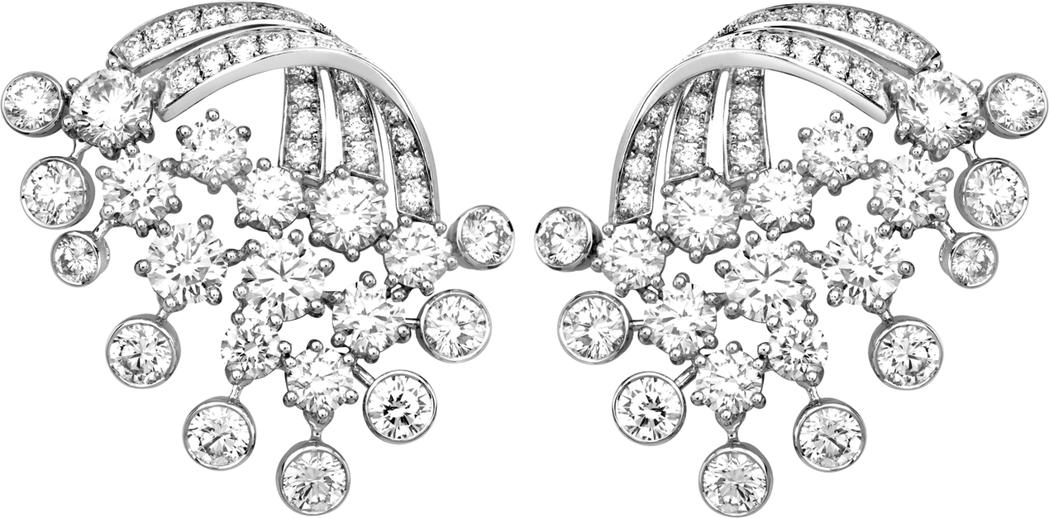 楊丞琳配戴伯爵的 Mediterranean Garden高級珠寶系列Frenc...