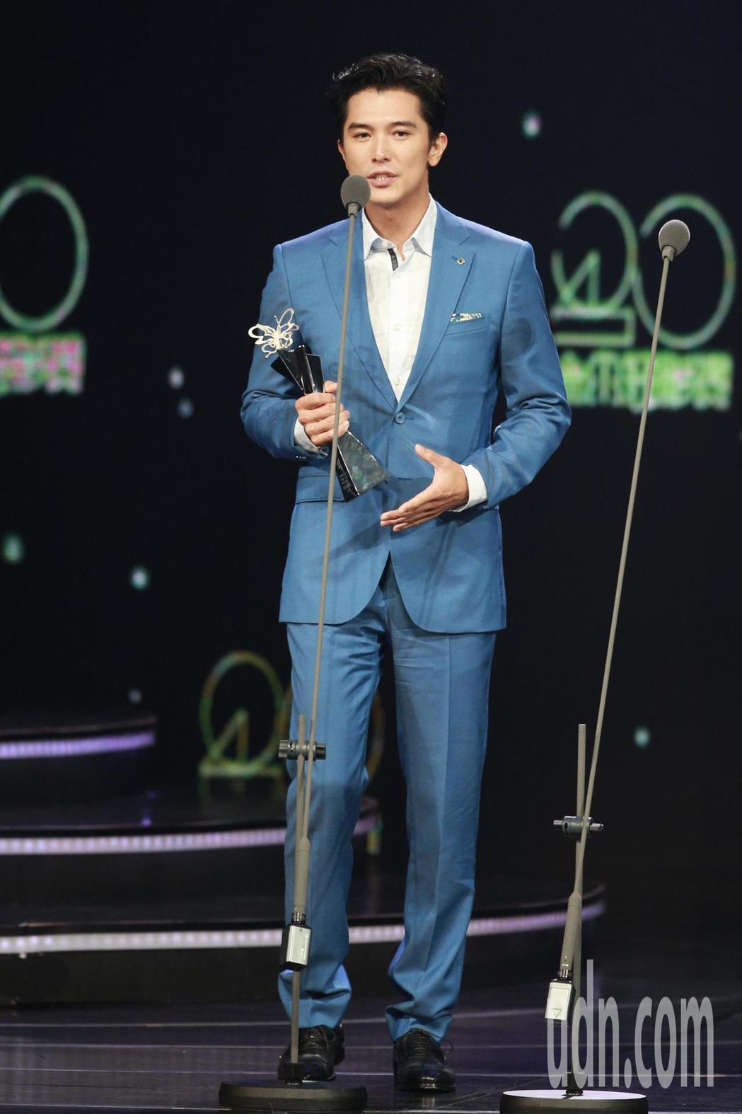 2018台北電影獎,最佳男主角獎由邱澤獲得。記者林伯東/攝影