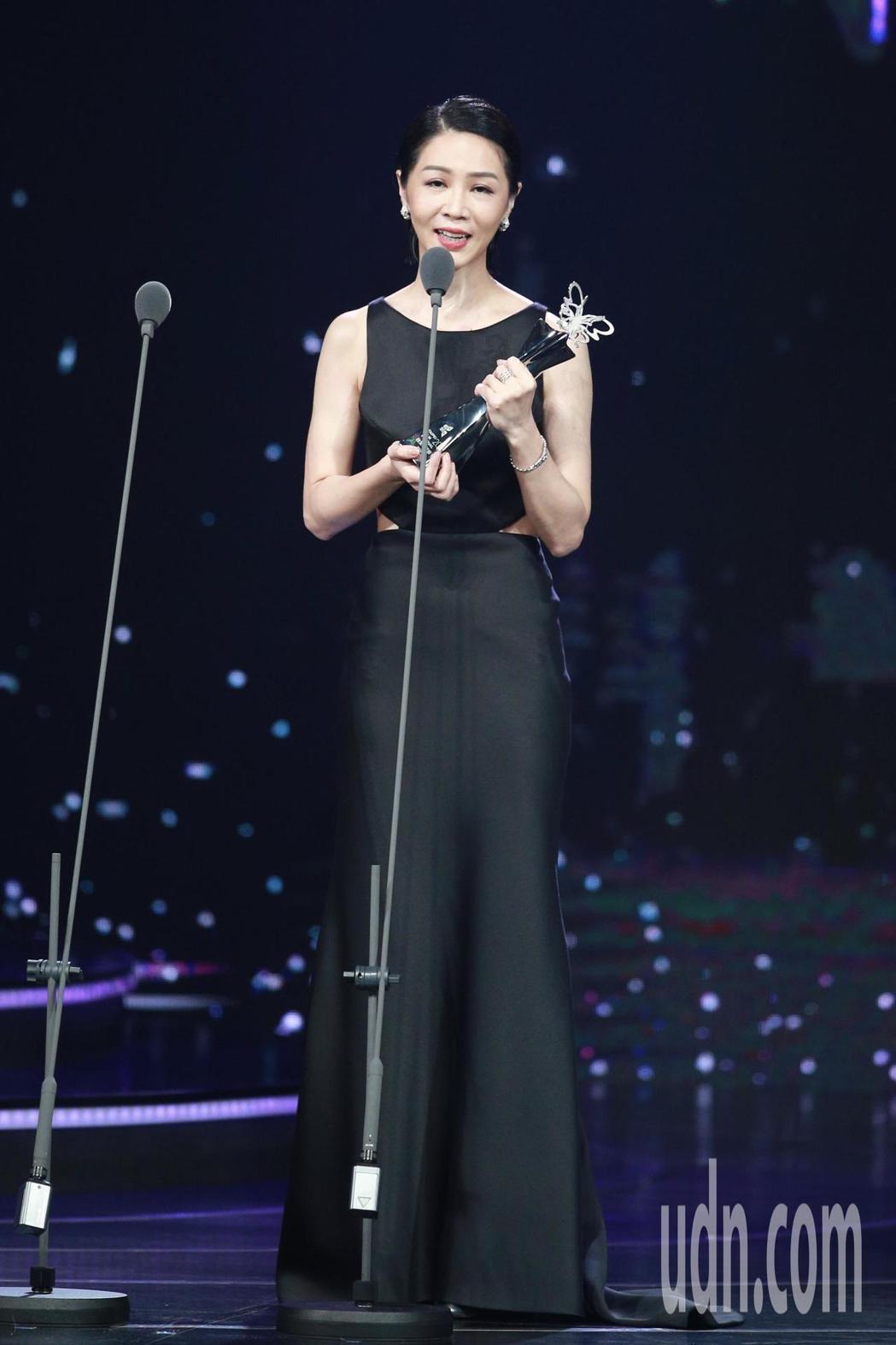 2018台北電影獎,最佳女主角獎由謝盈萱獲得。記者林伯東/攝影