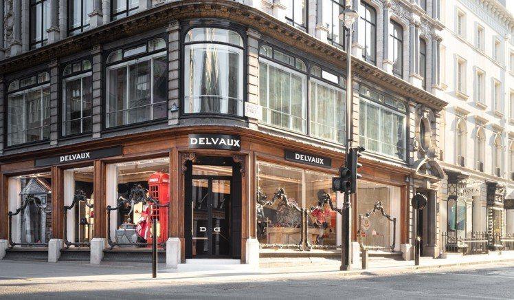 新龐德街的DELVAUX專賣店。圖/DELVAUX提供