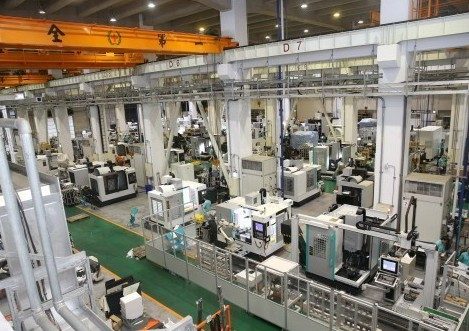 台灣機械產業成為新兆元產業,下一波智慧製造正如火如荼展開。圖為友嘉企業團工具機生...