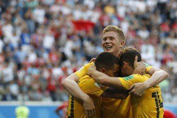 世足史上第4支贏6場卻未奪冠 比利時:沒有遺憾