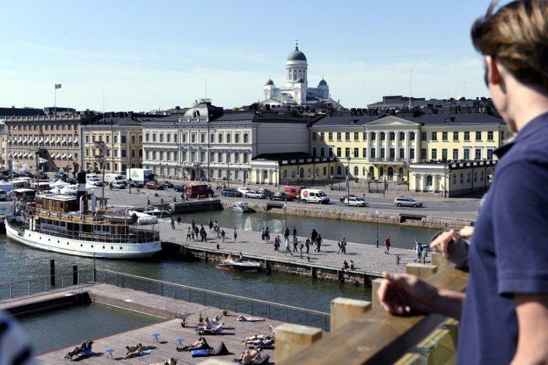 「雙普會」16日在芬蘭總統府舉行。 (路透)