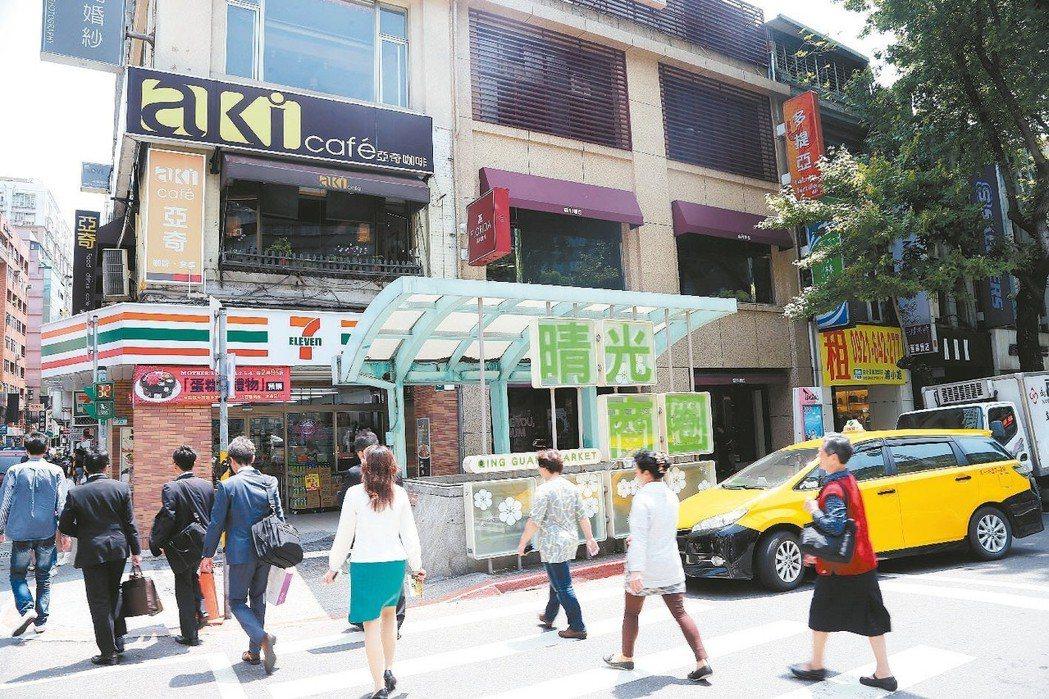 中山區是台北市熱門購屋區塊。 本報系資料庫