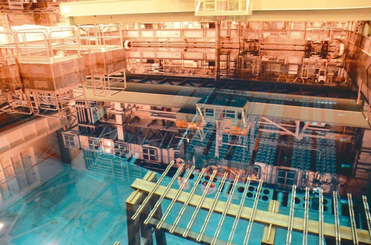 核四第一批核燃料棒本月初運往美國。 圖/聯合報系資料照片
