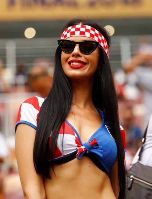 克羅埃西亞球迷。