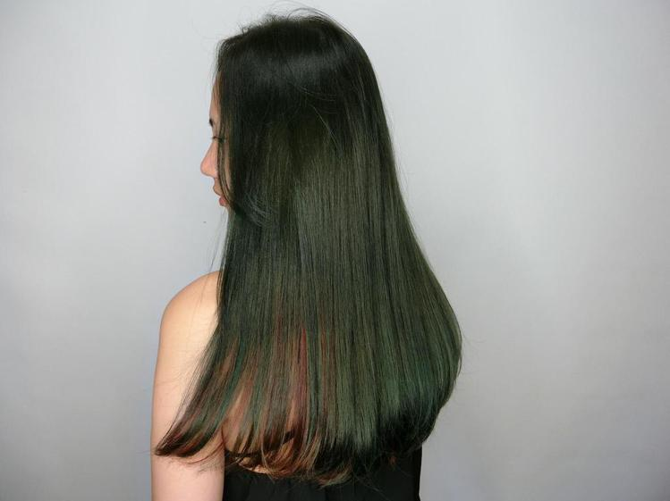 髮型創作/Nina。圖/StyleMap提供