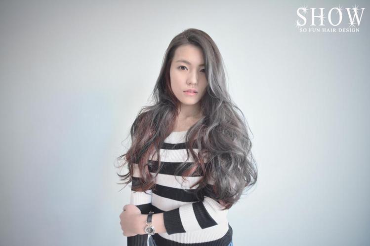 髮型創作/莎芙 Show。圖/StyleMap提供