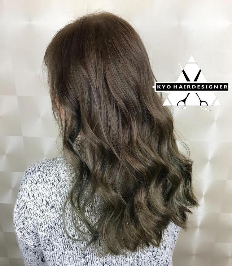 髮型創作/Kyo Huang。圖/StyleMap提供