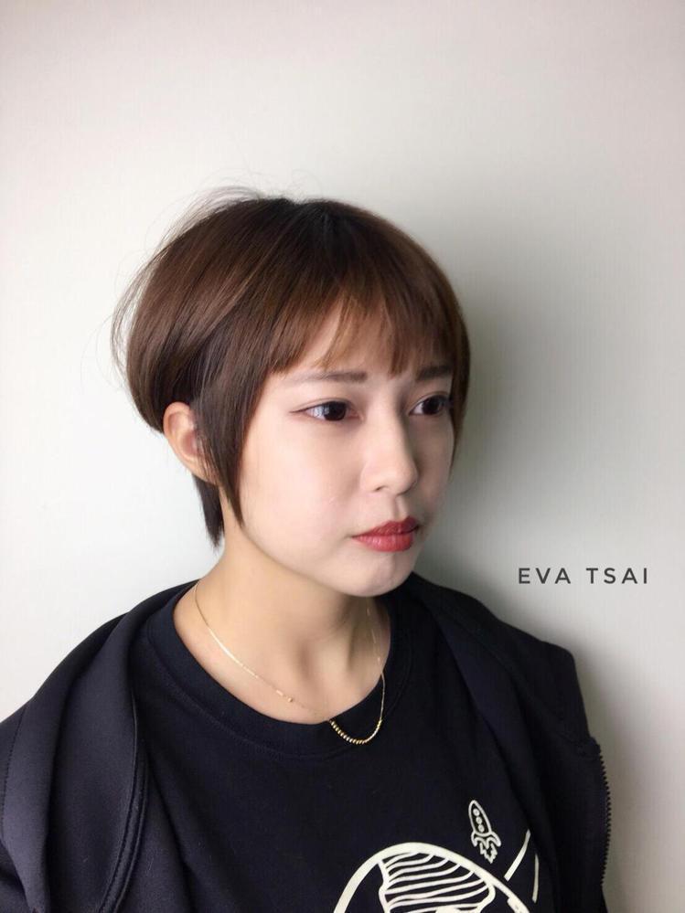髮型創作/Eva Tsai。圖/StyleMap提供