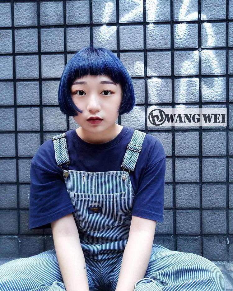 髮型創作/WEI。圖/StyleMap提供