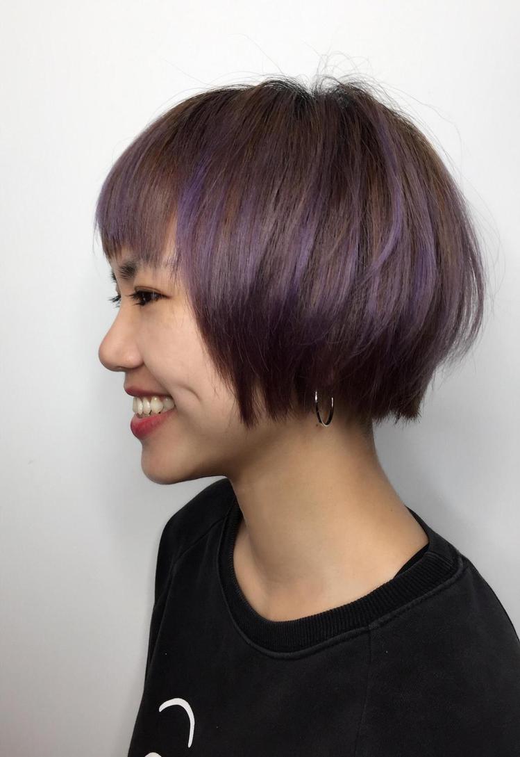 髮型創作/Willian。圖/HairMap美髮地圖提供