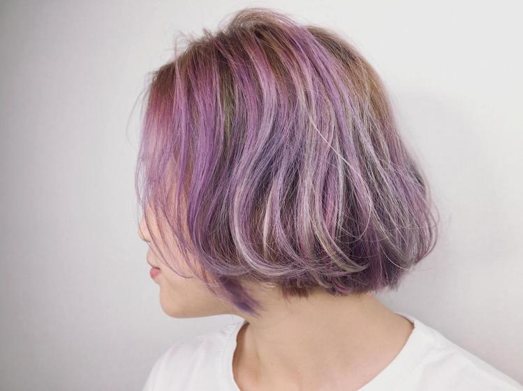 髮型創作/Carina。圖/StyleMap提供