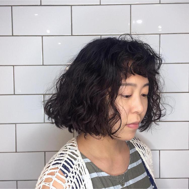 髮型創作/墨子 I Mozi。圖/StyleMap提供