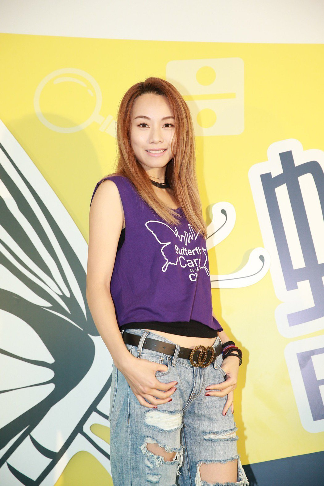 鄧麗欣素有「港版米倉涼子」之稱,今在香港大方認愛。圖/CFP