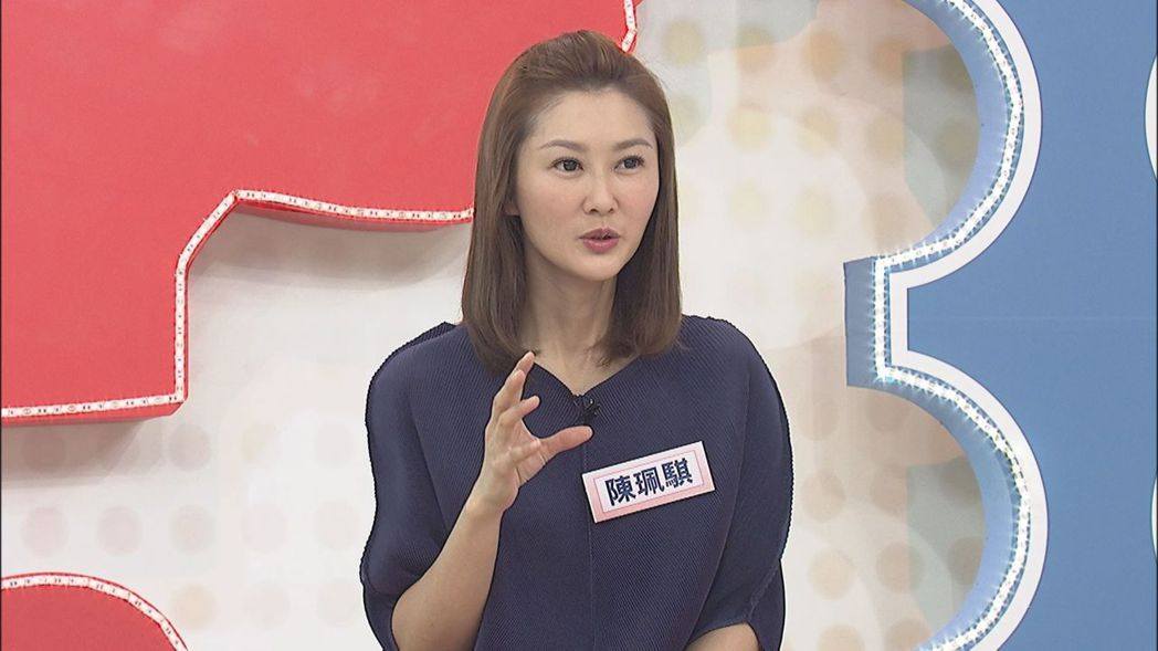 陳珮騏患有僵直性脊椎炎。圖/中天提供