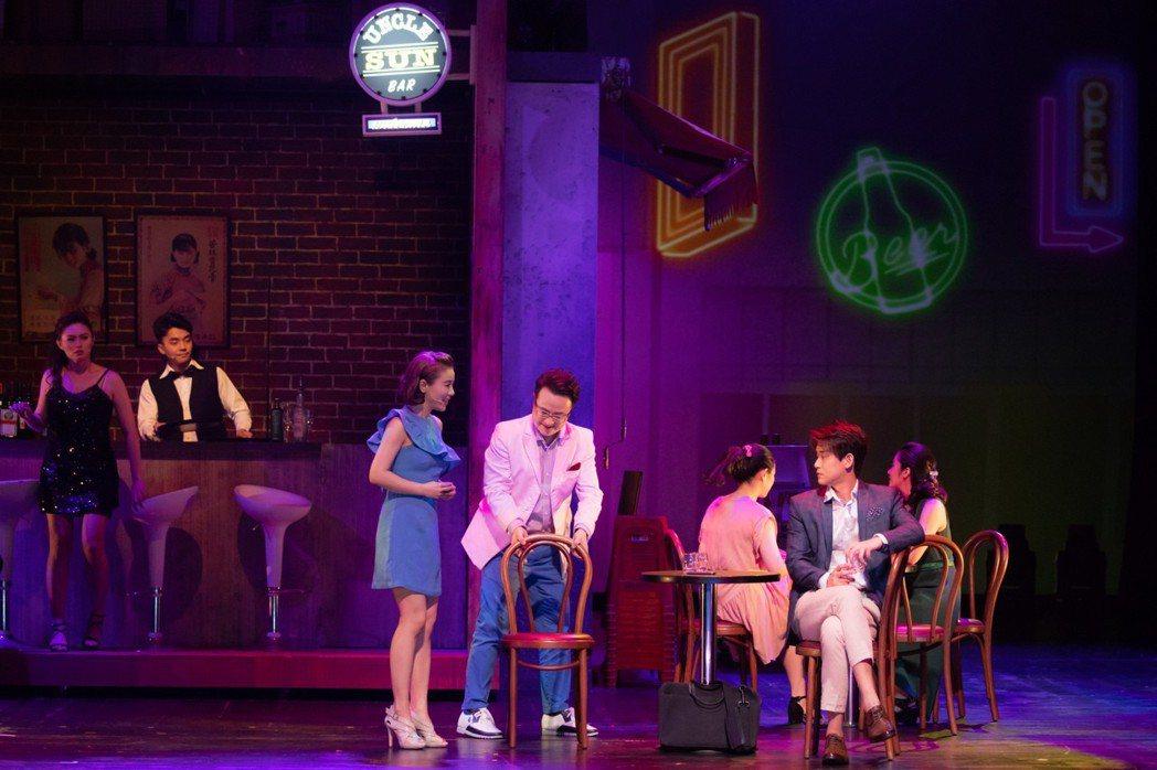 丁噹駐唱的酒吧特別取名為「Uncle Sun」,紀念孫越。圖/相信提供