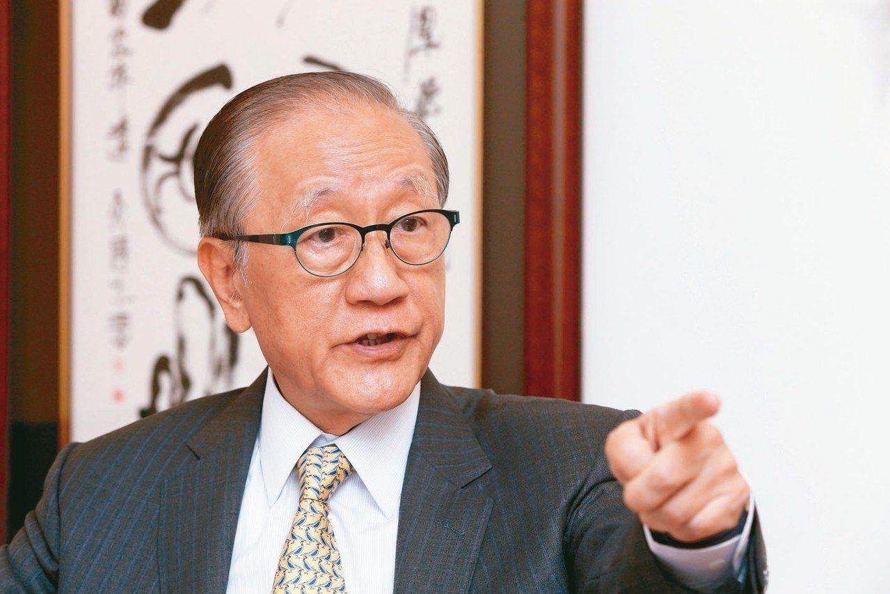 新黨主席郁慕明。圖/聯合報系資料照片