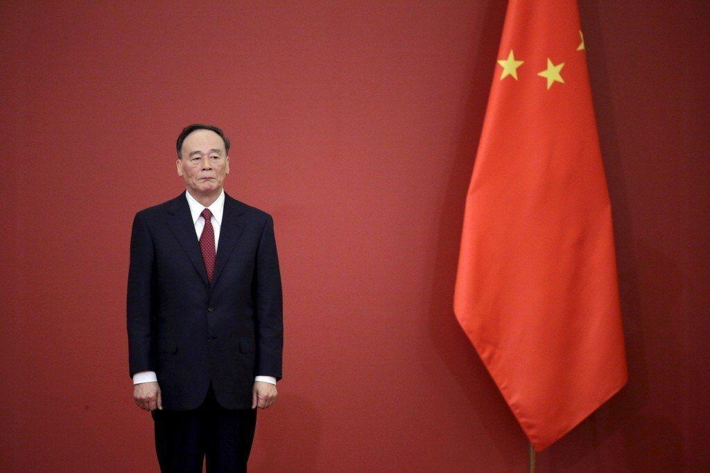 中國國家副主席王岐山。(路透)