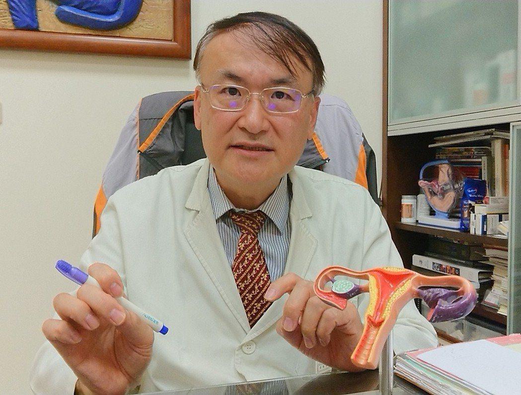 好韻診所院長郭鴻璋說,女性的卵子數量從28至30歲就開始下降,到40歲已相當貧乏...