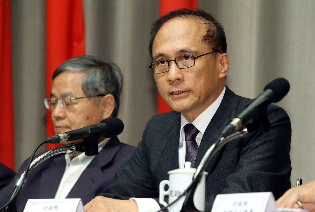 行政院前院長林全(右)。 圖/聯合報系資料照片