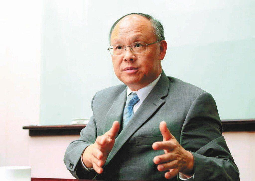 行政院政務委員鄧振中。 圖/聯合報系資料照片