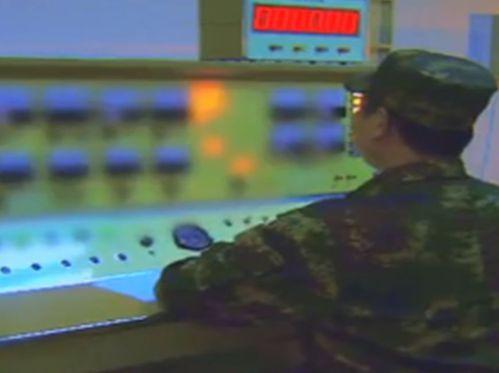 解放軍從畫面上監測各種情況。 圖/摘自搜狐網