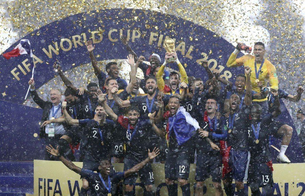 法國贏得今年世足賽冠軍。 新華社