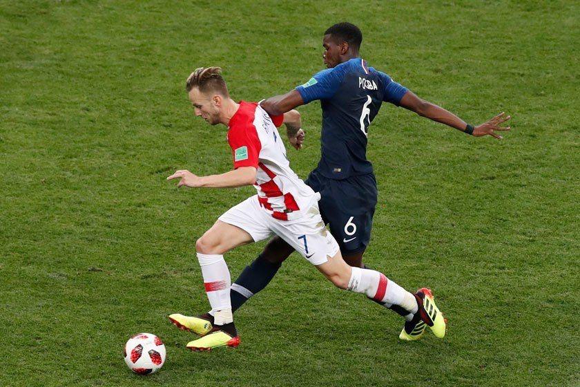 克羅埃西亞全場的攻勢遠比法國更為凌厲,但法國再次展現他們高效率的作戰能力,精準掌...