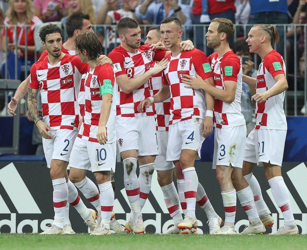 克羅埃西亞雖在決賽落敗,卻贏得尊敬。 新華社