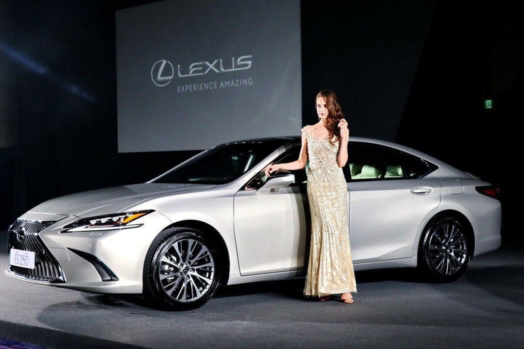 LEXUS總代理和泰汽車發表全新第七代的中型豪華房車ES,首波導入ES 200及...