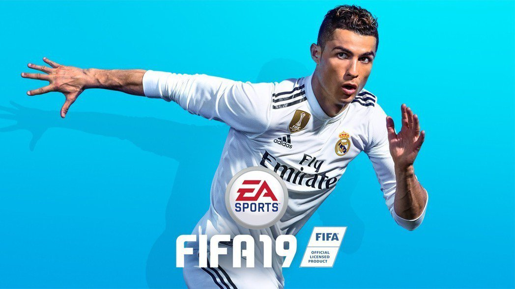《FIFA 19》封面人物C羅。圖/截自EA Sports