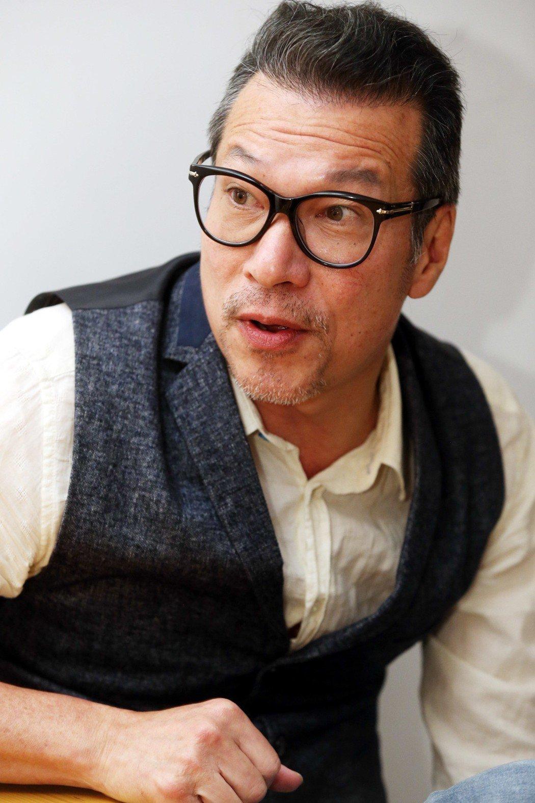 黃仲崑專訪。記者林俊良/攝影