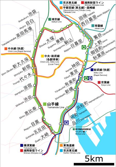 機場到上野。 圖/wiki