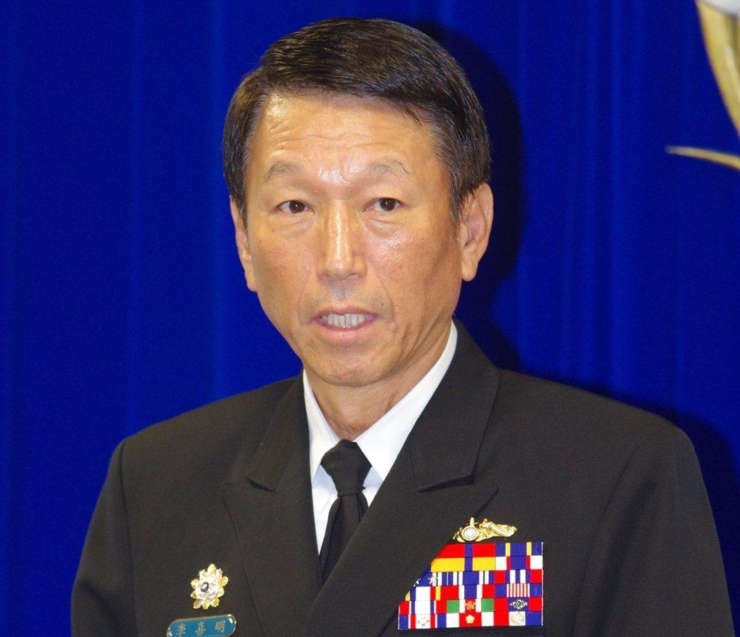 參謀總長李喜明今親率專案小組南下趕到預校調查。聯合報系資料照